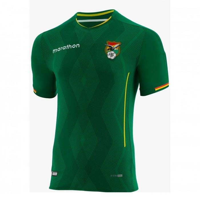 Camiseta Bolivia 2019